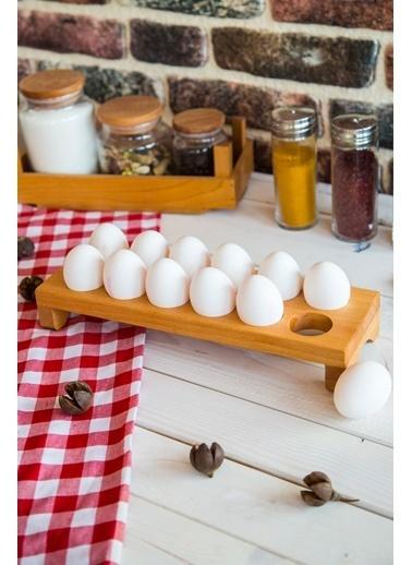 Joy Kitchen  12'Li Ahşap Yumurta Standı Renkli